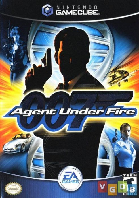 007 Agent Under Fire Nintendo Game Cube...