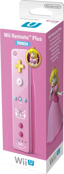 Foto Controle Remote Motion Plus Wii U - Peach (Seminovo)