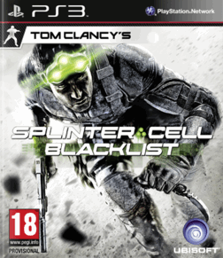 Foto Tom Clancys Splinter Cell Blacklist (Seminovo) PS3
