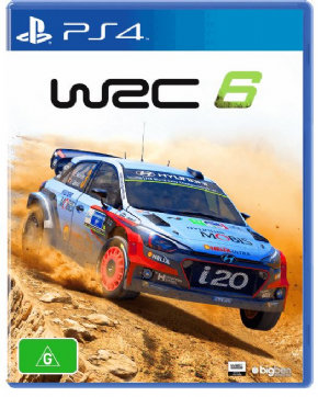 WRC 6 (Seminovo) PS4