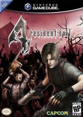 Resident Evil 4 Game Cube...
