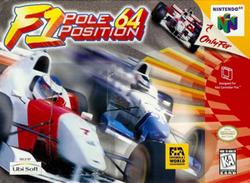 Foto F1 Pole Position 64 Nintendo 64 - Seminovo