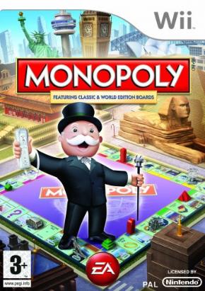 Monopoly (Seminovo) Wii