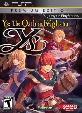 Ys: The Oath in Felghana...