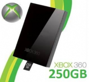 HD 250GB XBOX 360 Slim Or...