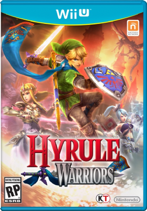 Hyrule Warriors Wii U - Seminovo