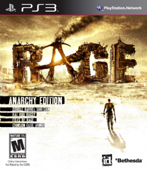 Rage Anarchy Edition PS3...