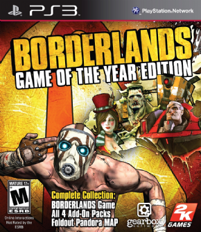 Borderlands Game of The Y...