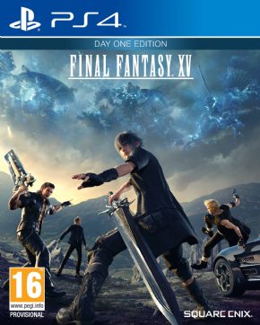 Foto Final Fantasy XV Day One PS4 - Seminovo