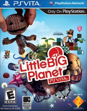 Little Big Planet PSVita - Seminovo