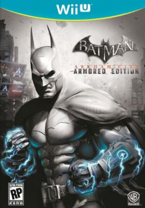 Foto Batman Arkhan City Armored Edition (Seminovo) Wii U