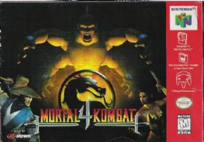 Mortal Kombat 4 (Seminovo...