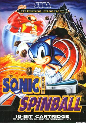 Sonic Spinball (Seminovo)...