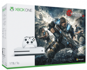 Foto Microsoft XBOX ONE S 1TB Bundle Gears Of War 4 -Seminovo