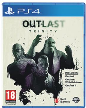 Outlast Trinity PS4 - Sem...