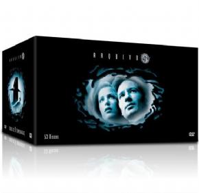 DVD Box Arquivo X - 1ª A...