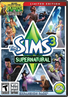 The Sims 3 - Sobrenatural...
