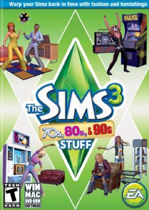 Foto The Sims 3 - Anos 70, 80 e 90 (Coleção de Objetos) PC-DVD (Português BR)