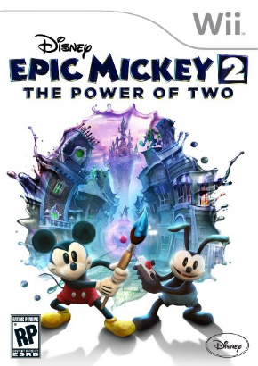 Foto Disney Epic Mickey 2: The Power of Two (Seminovo) Wii