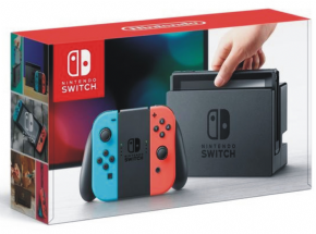 Nintendo Switch Neon Blue and Neon Red J...