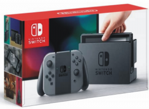 Nintendo Switch Gray Joy-...