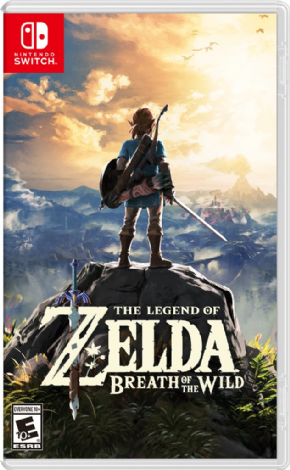Foto The Legend of Zelda: Breath of The Wild Nintendo Switch