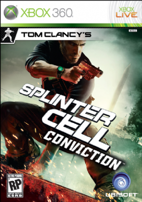 Foto Tom Clancys Splinter Cell Conviction XBOX 360 - Seminovo