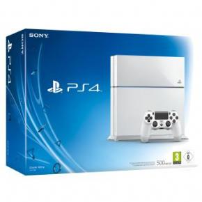 Foto Sony Playstation 4 Branco + 3 Anos de Garantia ZG! 1206-A (PROMOÇÃO)