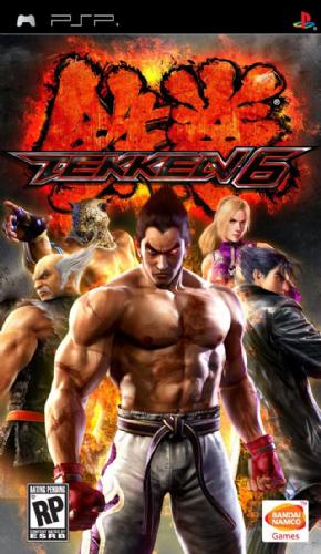 Tekken 6 (Seminovo) PSP
