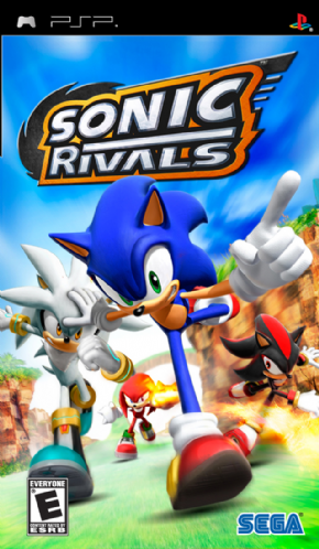 Sonic Rivals (Seminovo) PSP