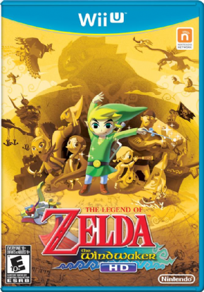 Foto The Legend of Zelda Wind Waker HD (Seminovo) Wii U