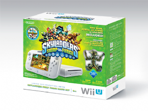 Foto Nintendo Wii U Basic Set | 8GB Destravado + HD 500GB - Skylanders Bundle - Seminovo
