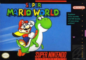 Super Mario World  Super Nintendo - Semi...