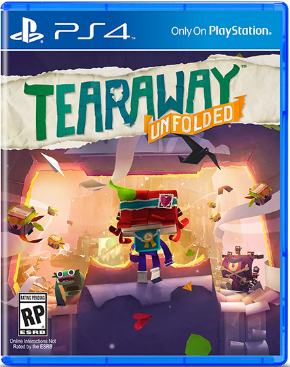 Foto Tearaway Unfolded Edição Crafted PS4 - Seminovo