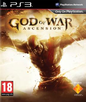 God of War Ascension PS3...