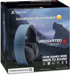 Headset 7.1 Gold Uncharte...