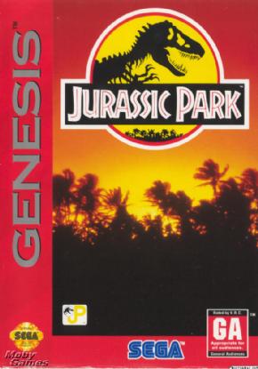 Jurassic Park Mega Drive...