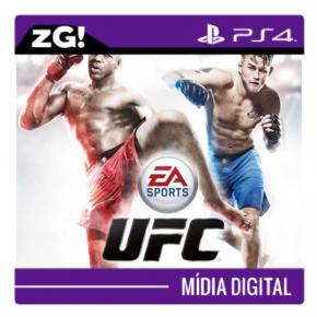 UFC MIDIA DIGITAL PS4