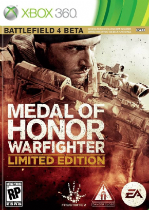 Foto Medal of Honor: Warfighter Limited Edition Steel Case XBOX360
