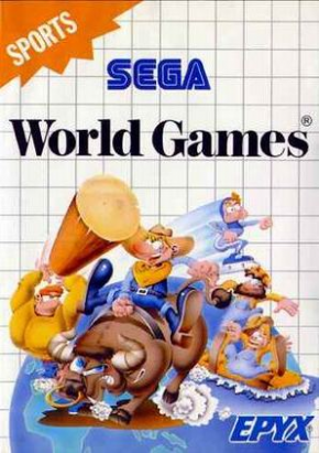 Foto World Games (Seminovo) Master System