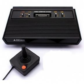 Atari 2600 + 01 Controle
