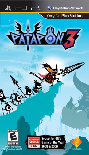 Patapon 3 Essentials PSP - Seminovo