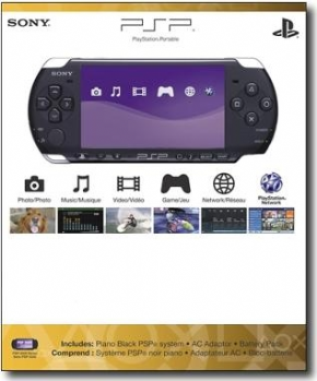 Foto PSP Preto 3001 Sony (Seminovo) + 32GB + 1 Ano de Garantia ZG!