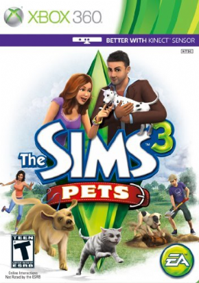 Foto The Sims 3 Pets (Seminovo) XBOX 360