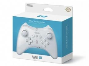 Controle Pro Branco WiiU