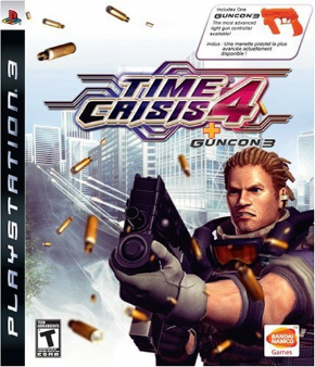 Foto Time Crisis 4 Bundle com Pistola (Seminovo) PS3