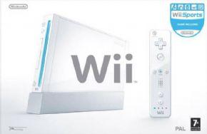 Nintendo Wii Branco Trava...