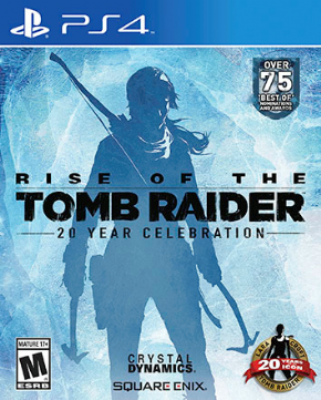 Foto Rise of Tomb Raider 20 Year Celebration PS4 - Seminovo