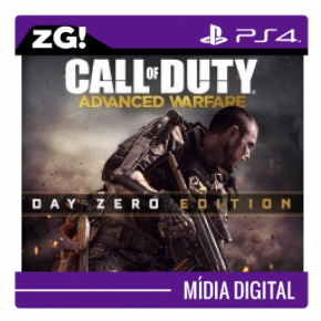 Foto Call of Duty Advance Warfare MIDIA DIGITAL PS4