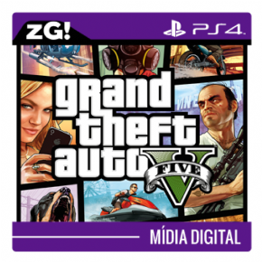 Foto Grand Theft Auto V MIDIA DIGITAL PS4